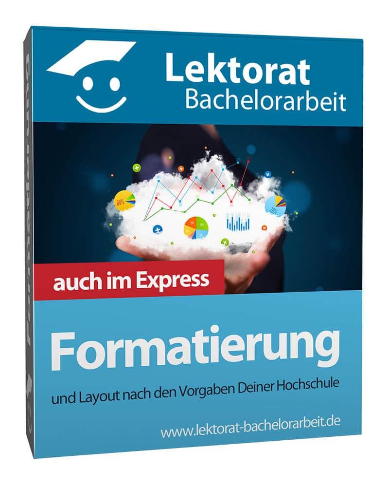 Formatierung & Layout einer Bachelorarbeit - im Express und in Word, OpenOffice, LibreOffice