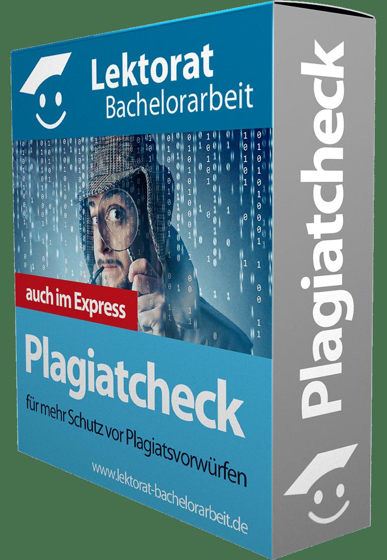 Express Plagiatsprüfung für eine Bachelorarbeit - jetzt Plagiate vermeiden!