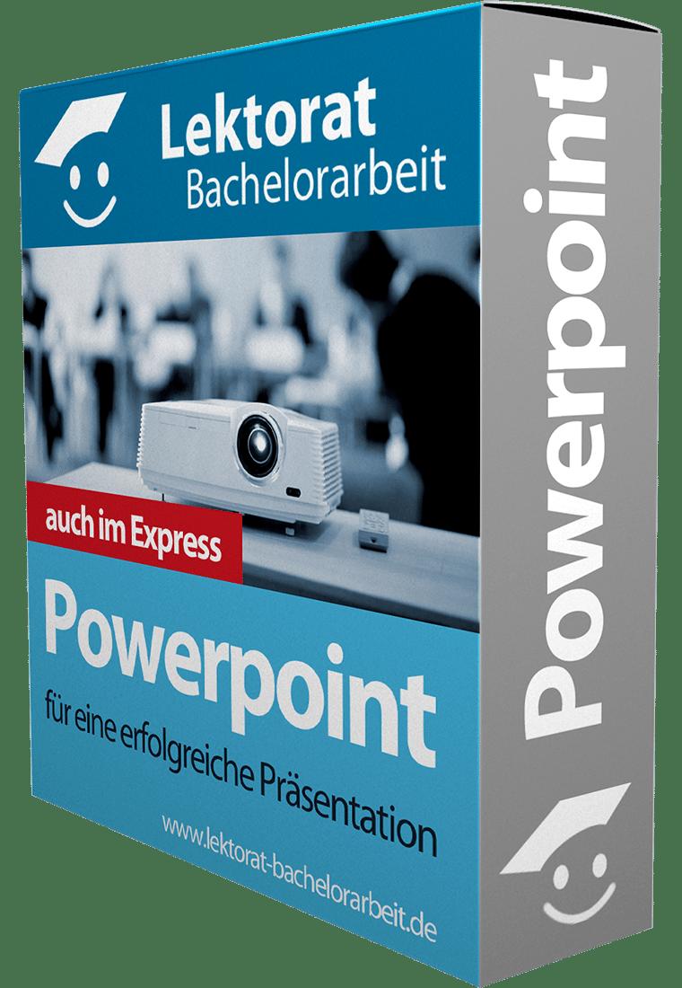 Erstellung einer Powerpoint-Präsentation für die Verteidigung einer Bachelorarbeit