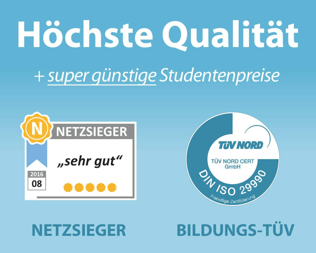 Lektorat Bachelorarbeit Korrekturlesen - Netzsieger & TÜV-zertifiziert