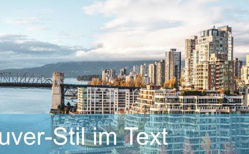 Vancouver-Stil Text