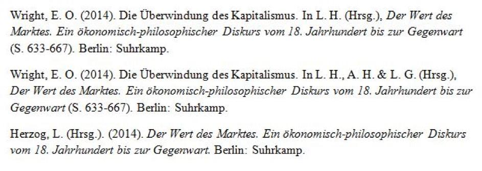 Literaturverzeichnis Das Regelwerk 0