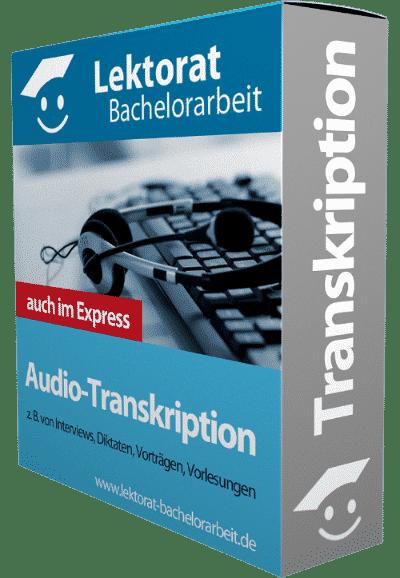 Interview transkribieren lassen - Audiotranskription für Studenten